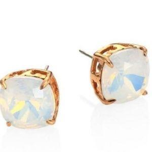 Tory Burch Gold Stud Crystal Earrings 💛